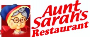 AUNT SARAH'S RESTAURANT LOGO